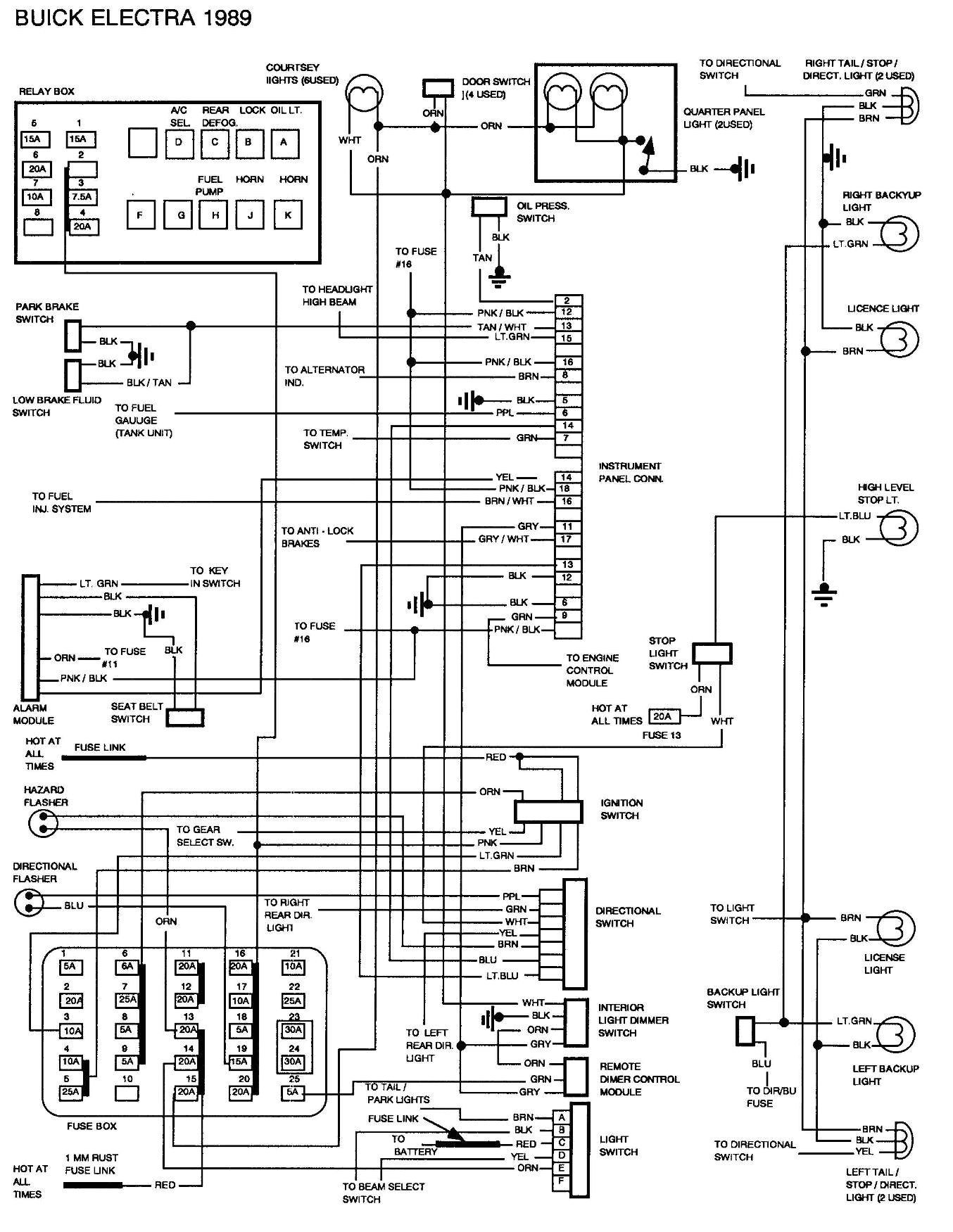 buick park avenue fuse relay box diagram as well 2003 buick regalwrg 7297 1994 buick