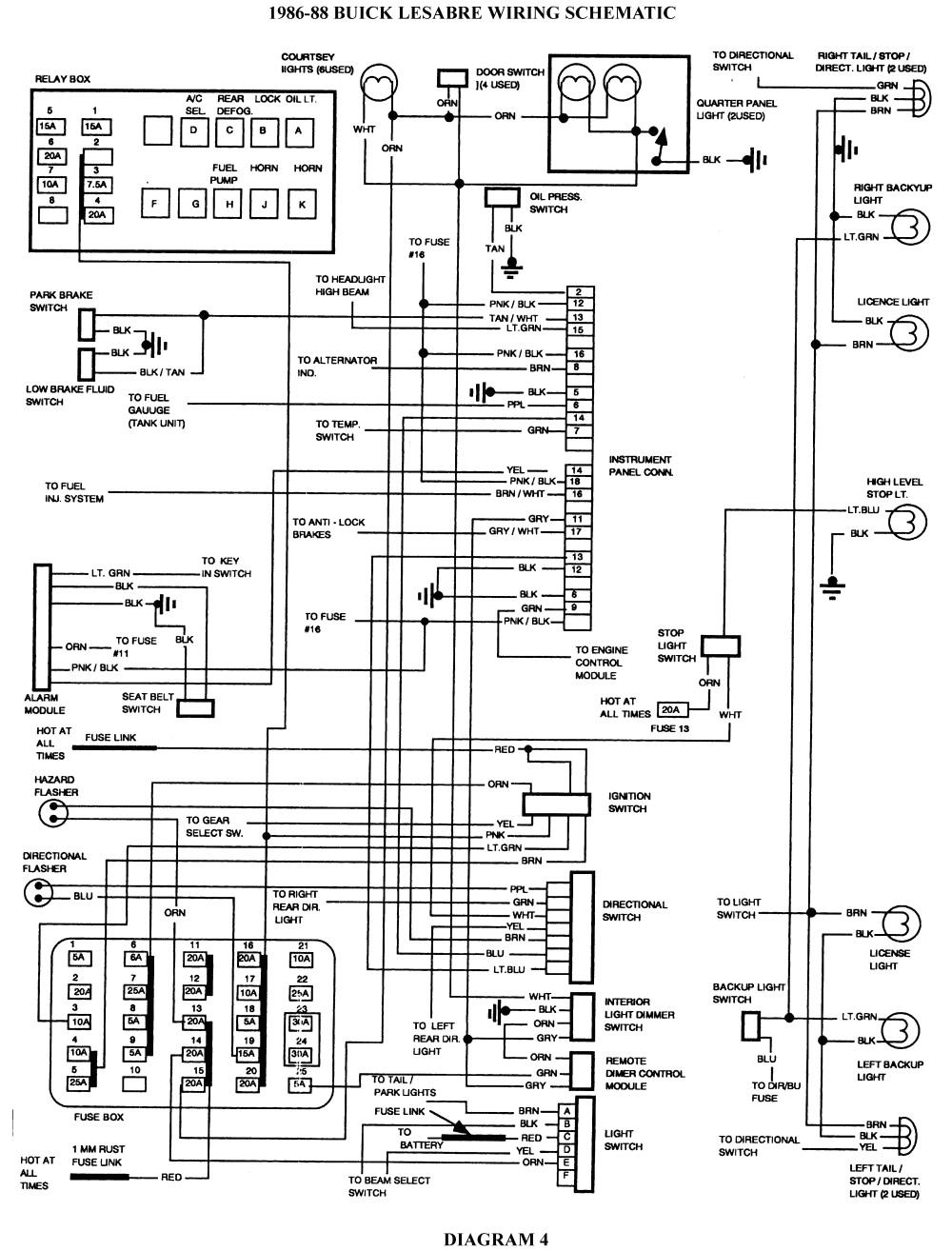 2000 buick century wiring diagram repair guides wiring diagrams wiring diagrams of 2000 buick century wiring diagram gif
