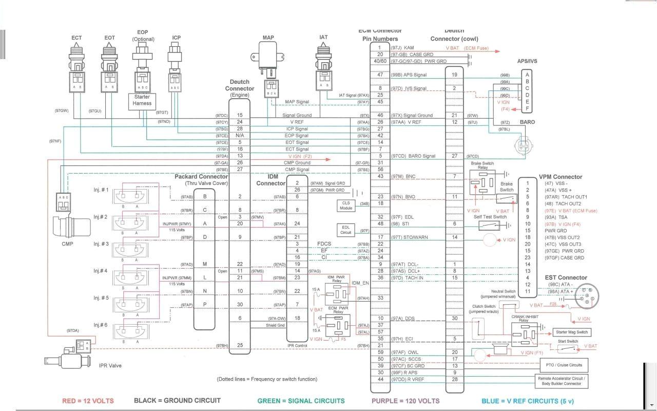 international truck wiring diagram unique 4700 dt466 ecm electrical diagrams elsavadorla of jpg