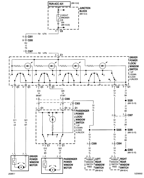 i am looking for a wiring diagram for the power window system in my grand am also jeep cherokee xj wiring diagrams besides 2000 jeep