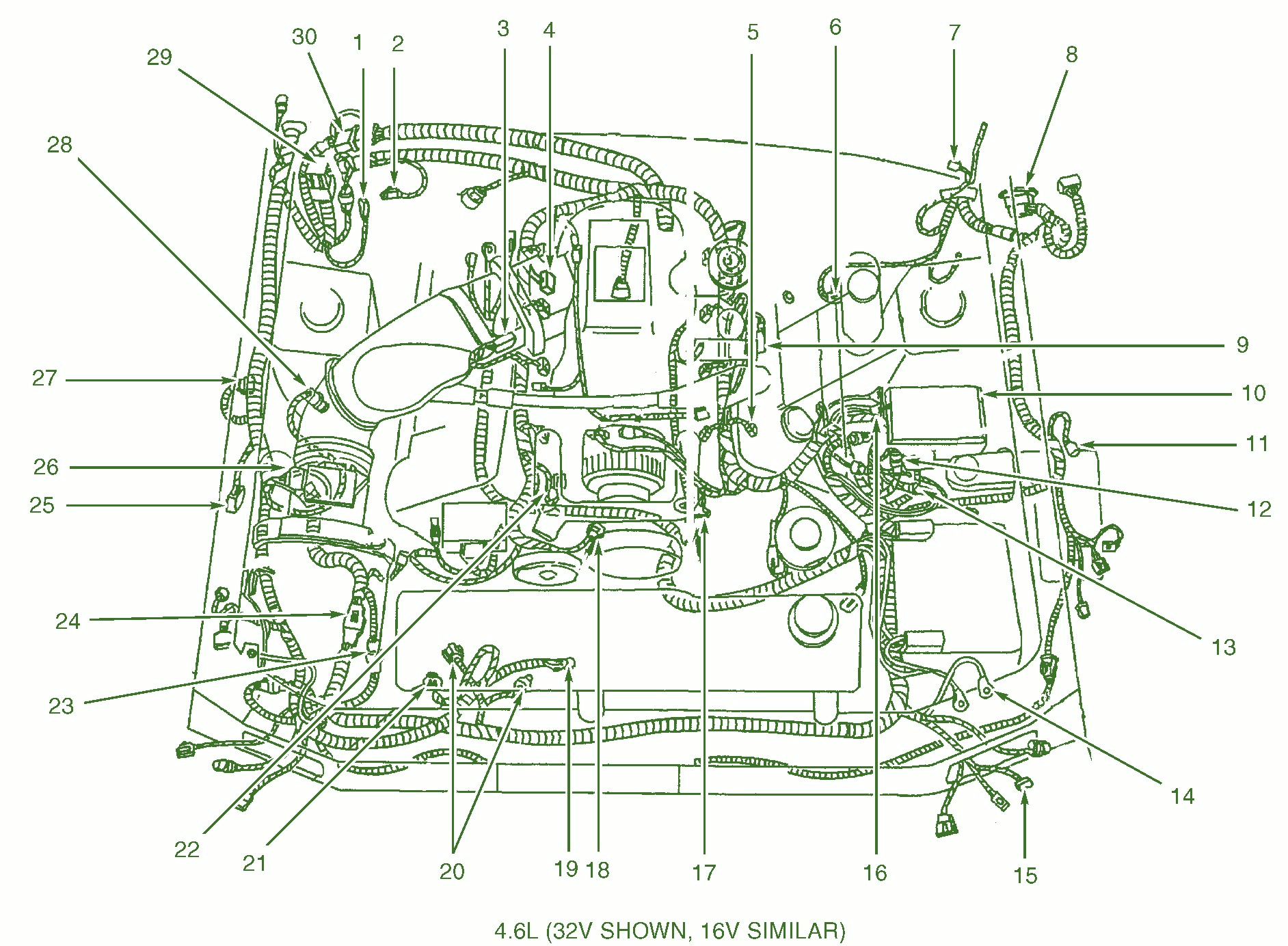 2000 mustang gt wiring wiring diagram expert 2000 mustang wiring schematic