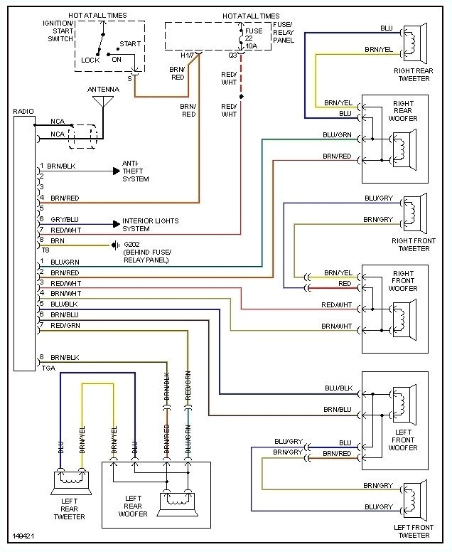 vw cabrio radio wiring wiring diagrams wni 2002 vw cabrio radio wiring diagram vw cabrio audio wiring