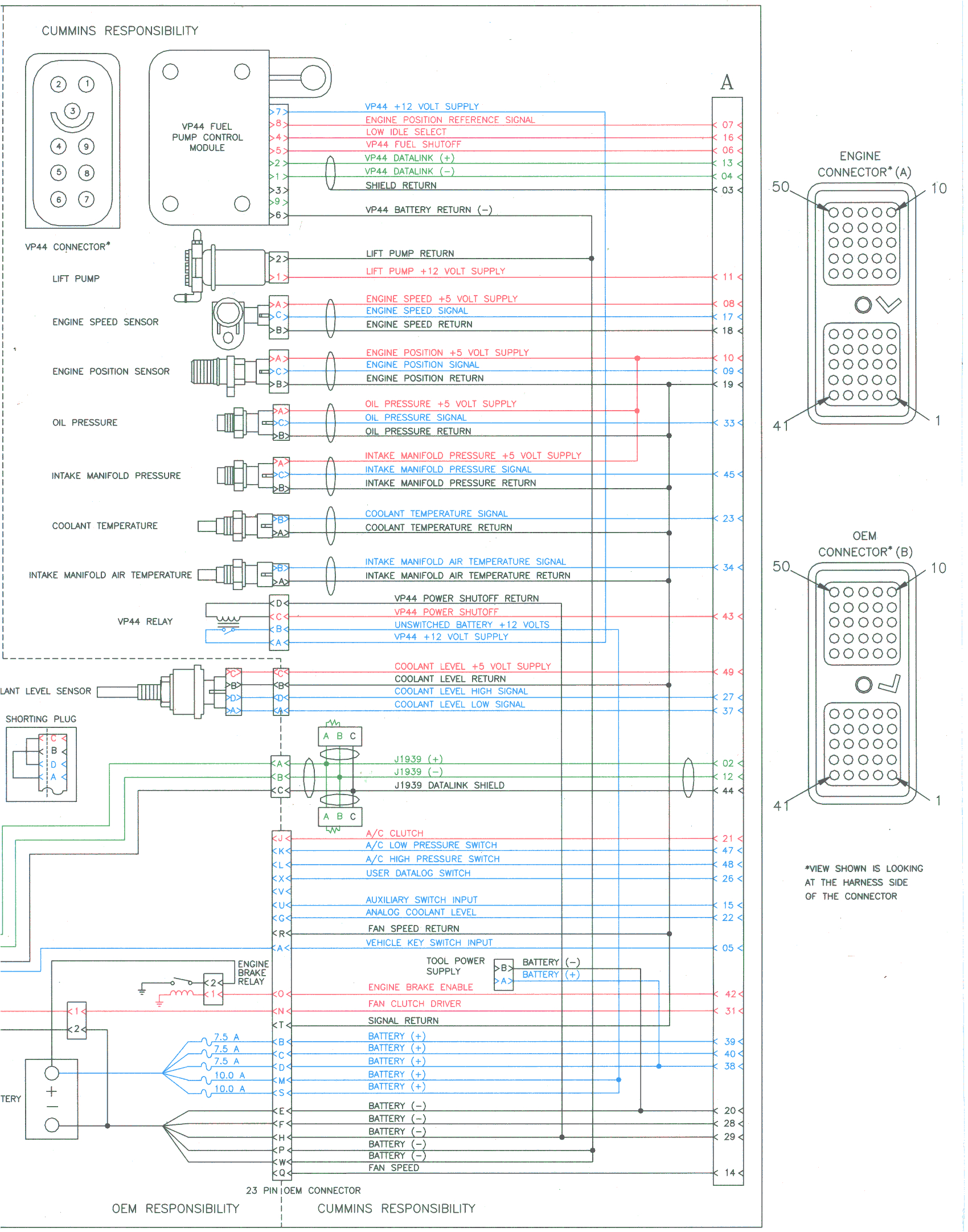 ecm details for 1998 2002 dodge ram trucks with 24 valve cummins 2001 dodge ram 2500 ecm wiring diagram dodge ram ecm wiring diagram