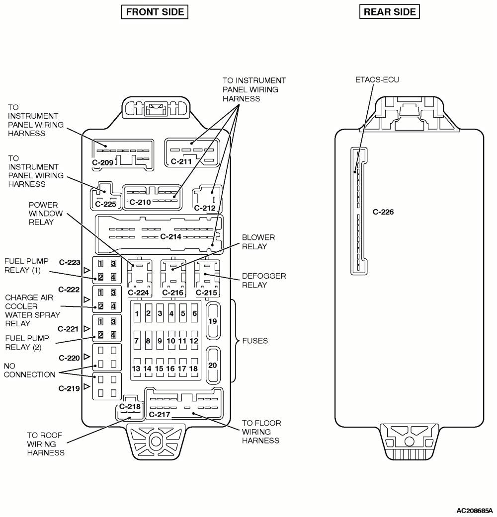 mitsubishi fuse box diagram gal wiring diagram val