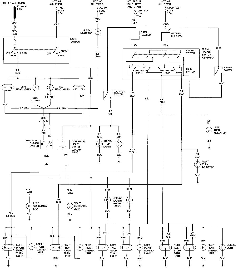 repair guides wiring diagrams wiring diagrams autozone comgrand prix wiring diagrams 14