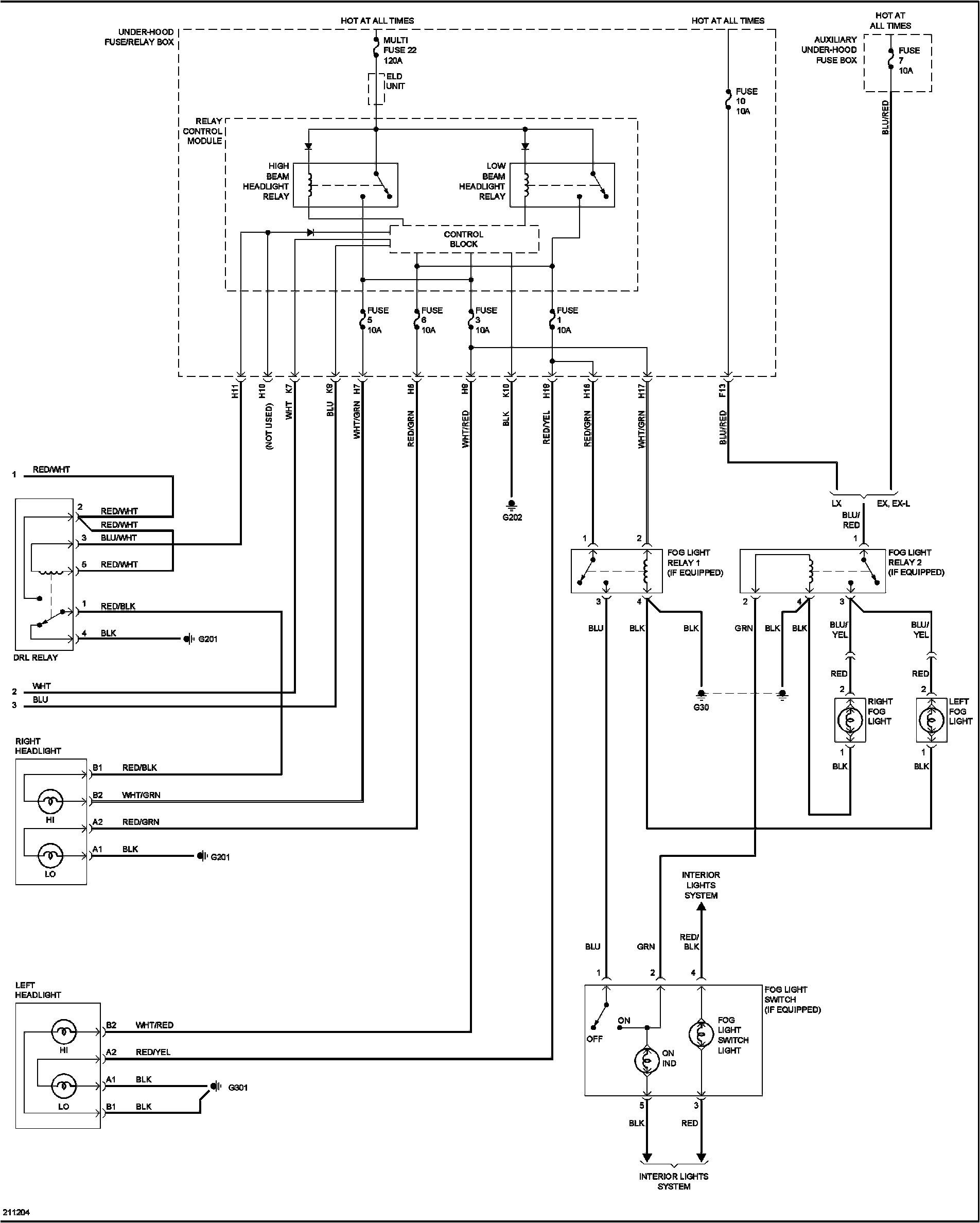 2011 honda civic si fuse diagram wiring diagram used 02