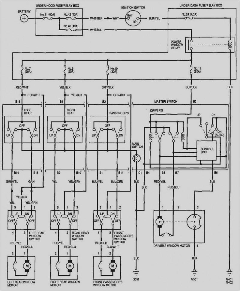 2001 honda civic window electrical wiring wiring diagram used 2001 honda civic radio wiring diagram pdf 2001 honda civic wiring diagram