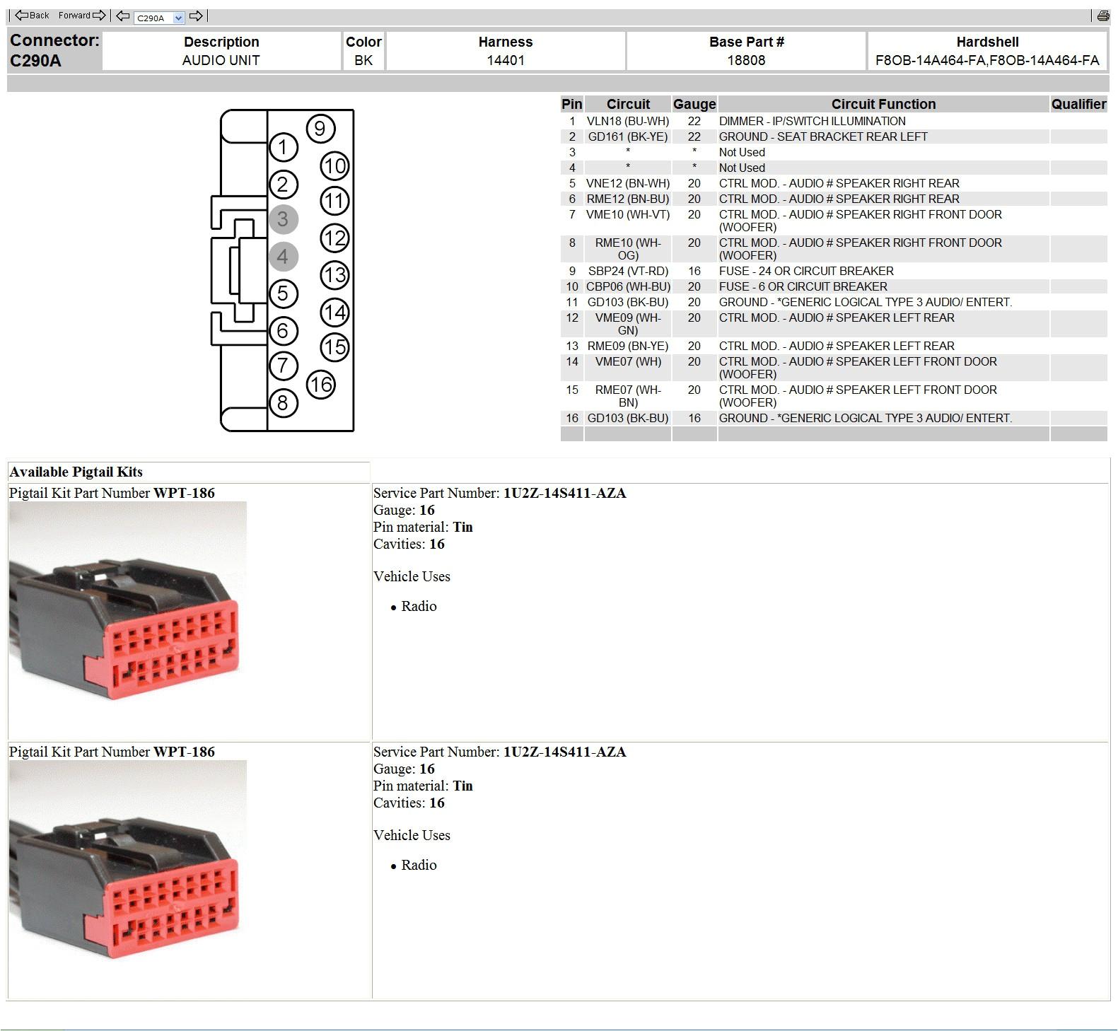 2010 ford ranger sport stereo wiring wiring diagram paper 2010 ford explorer sport trac wiring diagram