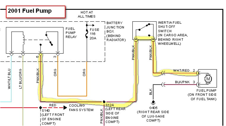2000 ford taurus fuel wiring diagram wiring diagram paper 2000 ford taurus electrical schematic
