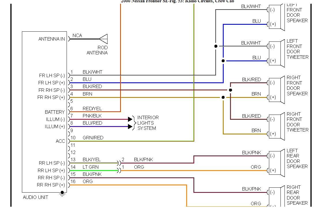 2002 Nissan Frontier Wiring Diagram Wiring Diagram for 1999 Nissan Sentra Wiring Diagram Paper