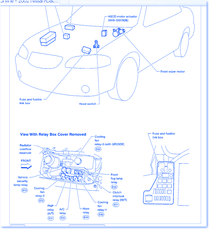 2002 nissan sentra fuse box wiring diagram features 2002 nissan sentra fuse box diagram