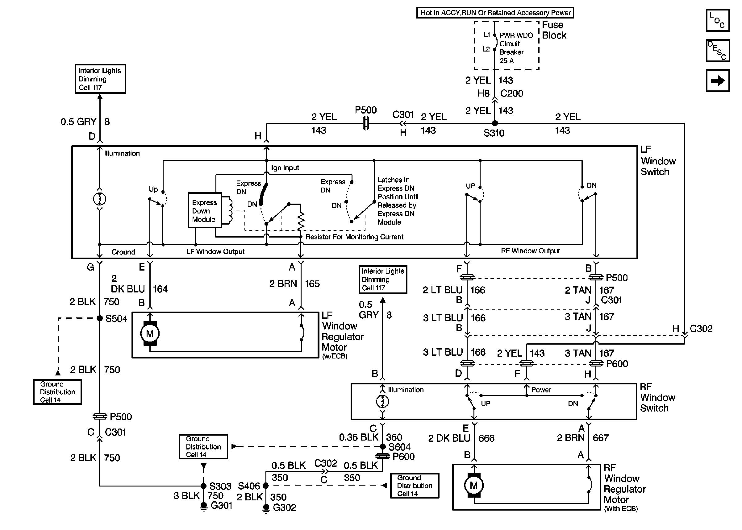 2002 Pontiac Grand Prix Wiring Diagram Rear Window Wiring Diagram 2003 Grand Prix Wiring Diagram Host