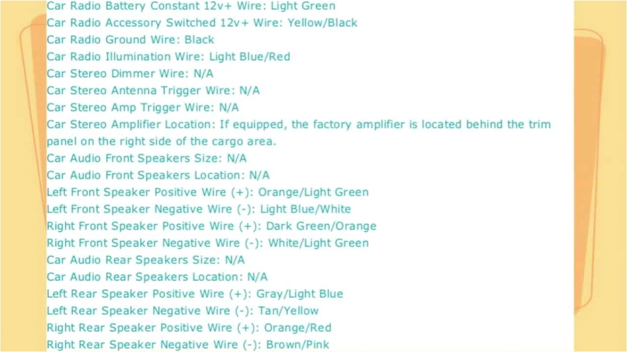 ford explorer stereo wire diagram 1998 to 2005 youtube 2003 ford explorer radio wire diagram 2003 ford explorer stereo wiring diagram