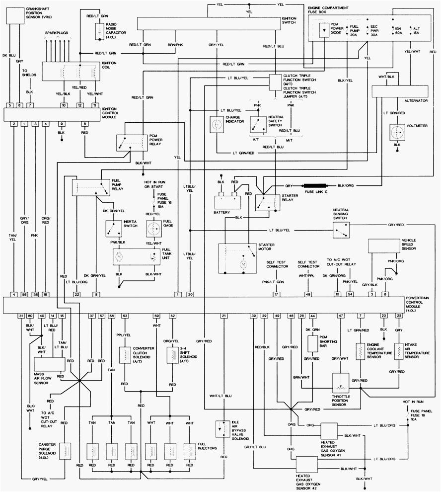 2004 ford ranger alternator wiring diagram wiring diagram inside 2004 polaris ranger wiring diagram 2004 ranger wiring diagram