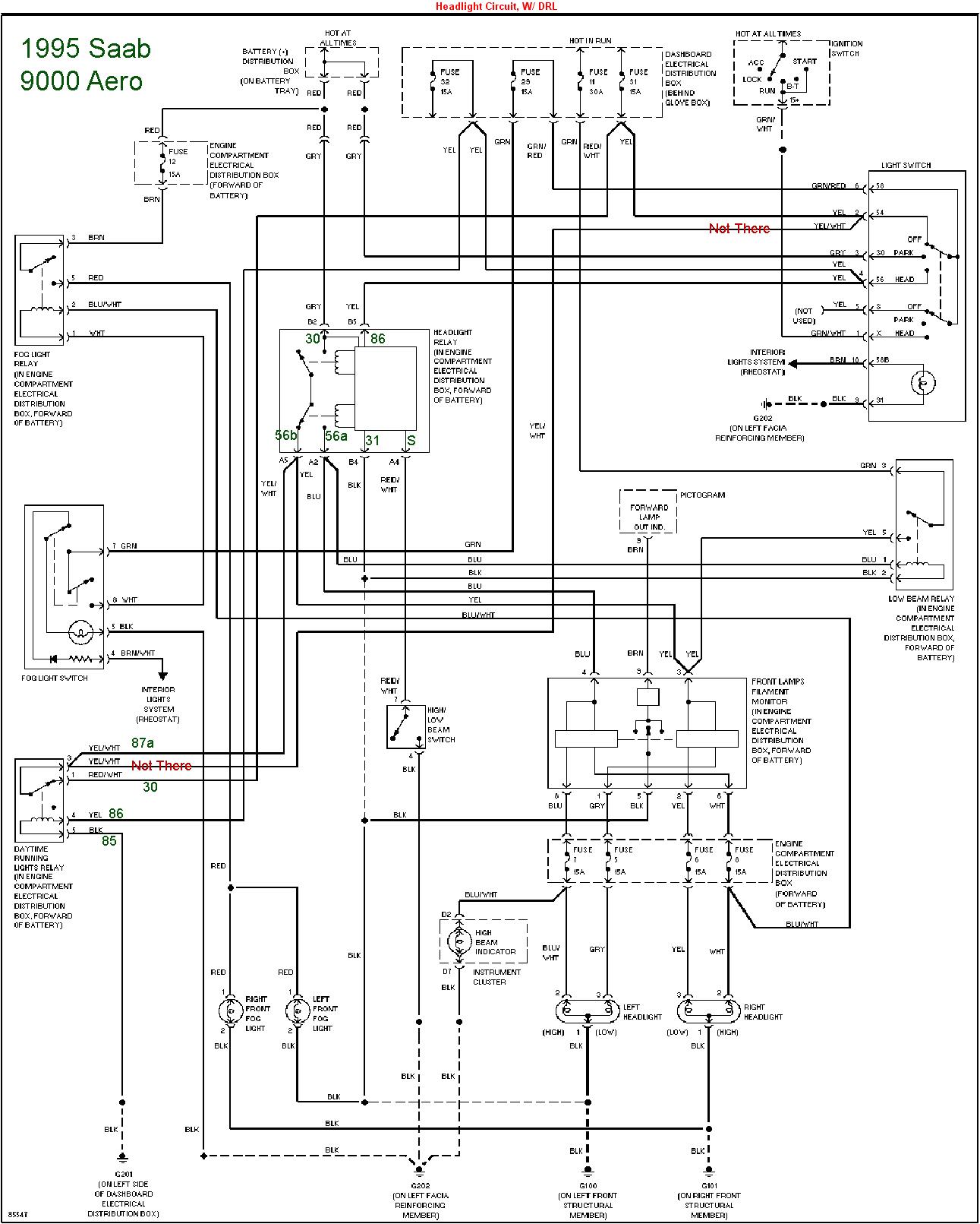 2003 saab 9 3 headlight wiring diagram wiring diagrams second 2003 saab 9 3 pioneer amp diagram