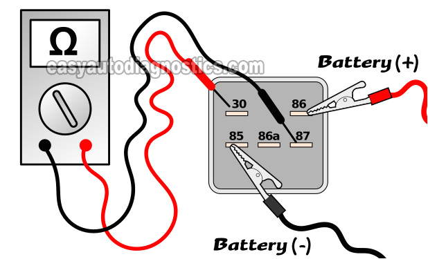 bench testing the fuel pump relay how to test the fuel pump relay 1997