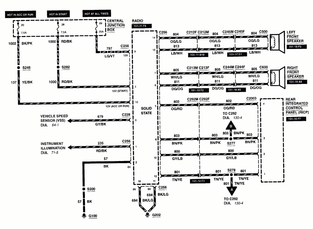 2001 diagrams ford wiring explorer taillinghts wiring diagram split 2001 diagrams ford wiring explorer taillinghts