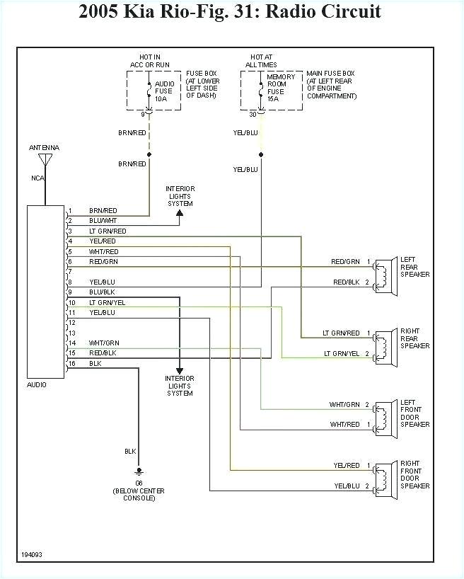2004 Kia Optima Radio Wiring Diagram 2004 Kia Amanti Stereo Wiring Diagram Wiring Diagram Split