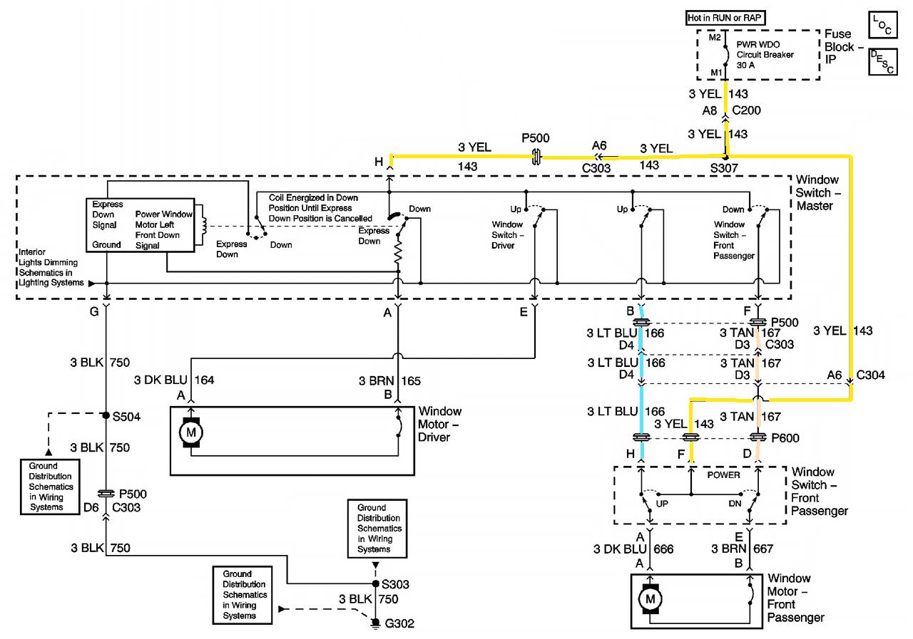 2003 pontiac aztek wiring diagram wiring diagram databasei have a pontiac montana the passenger door window