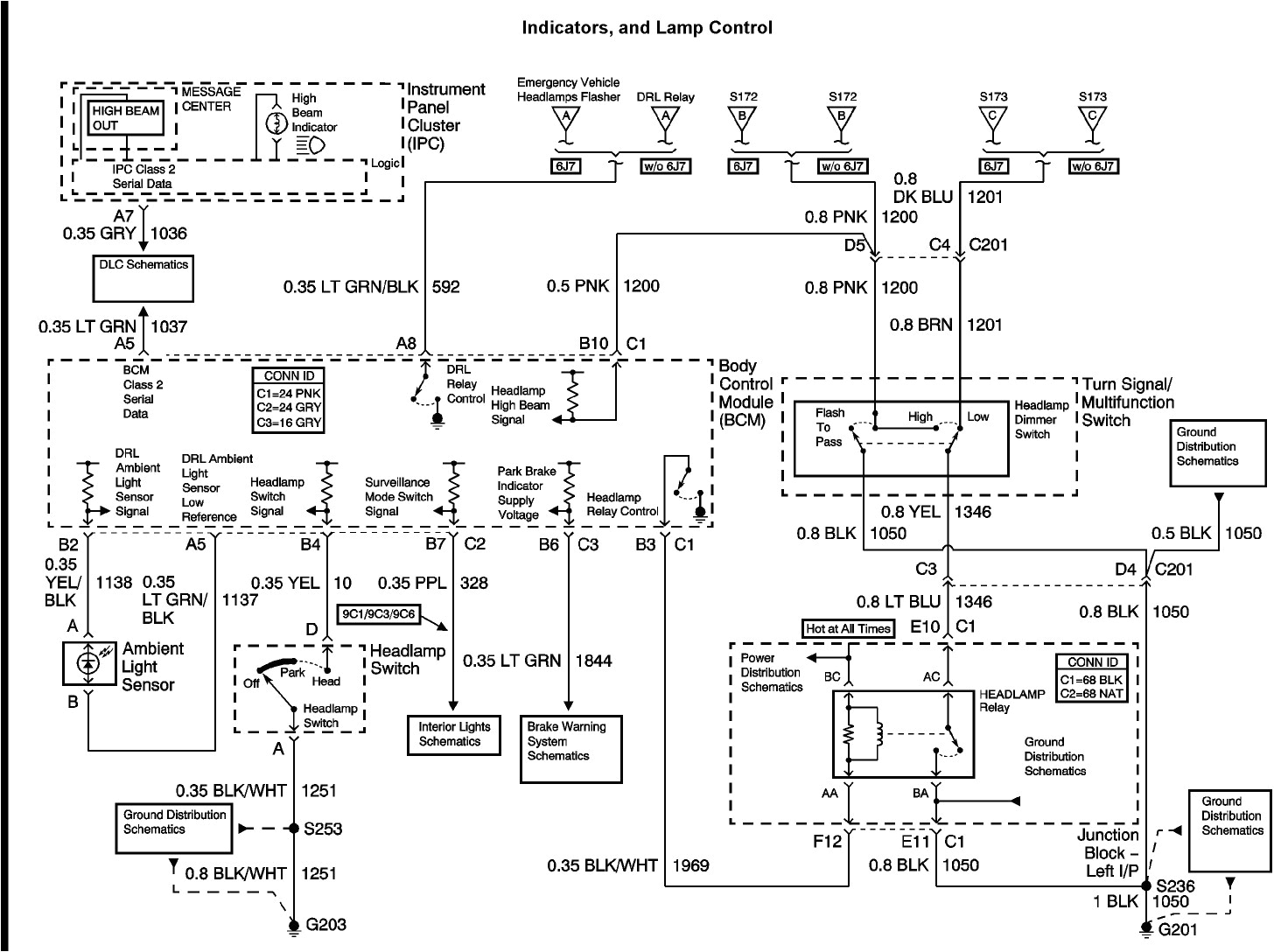 2000 chevrolet impala wiring diagrams wiring diagram sheet 2003 chevy impala headlight dimmer switch wiring diagram