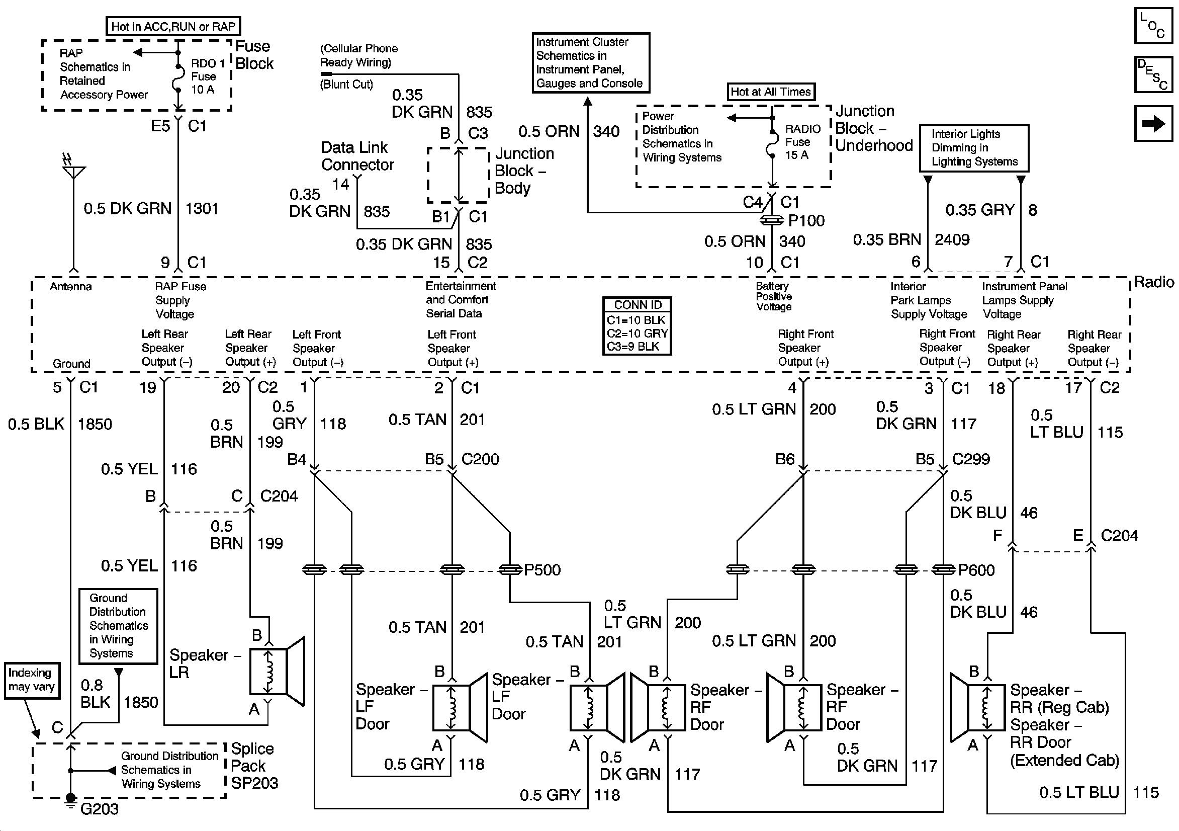 2008 silverado stereo wiring diagram