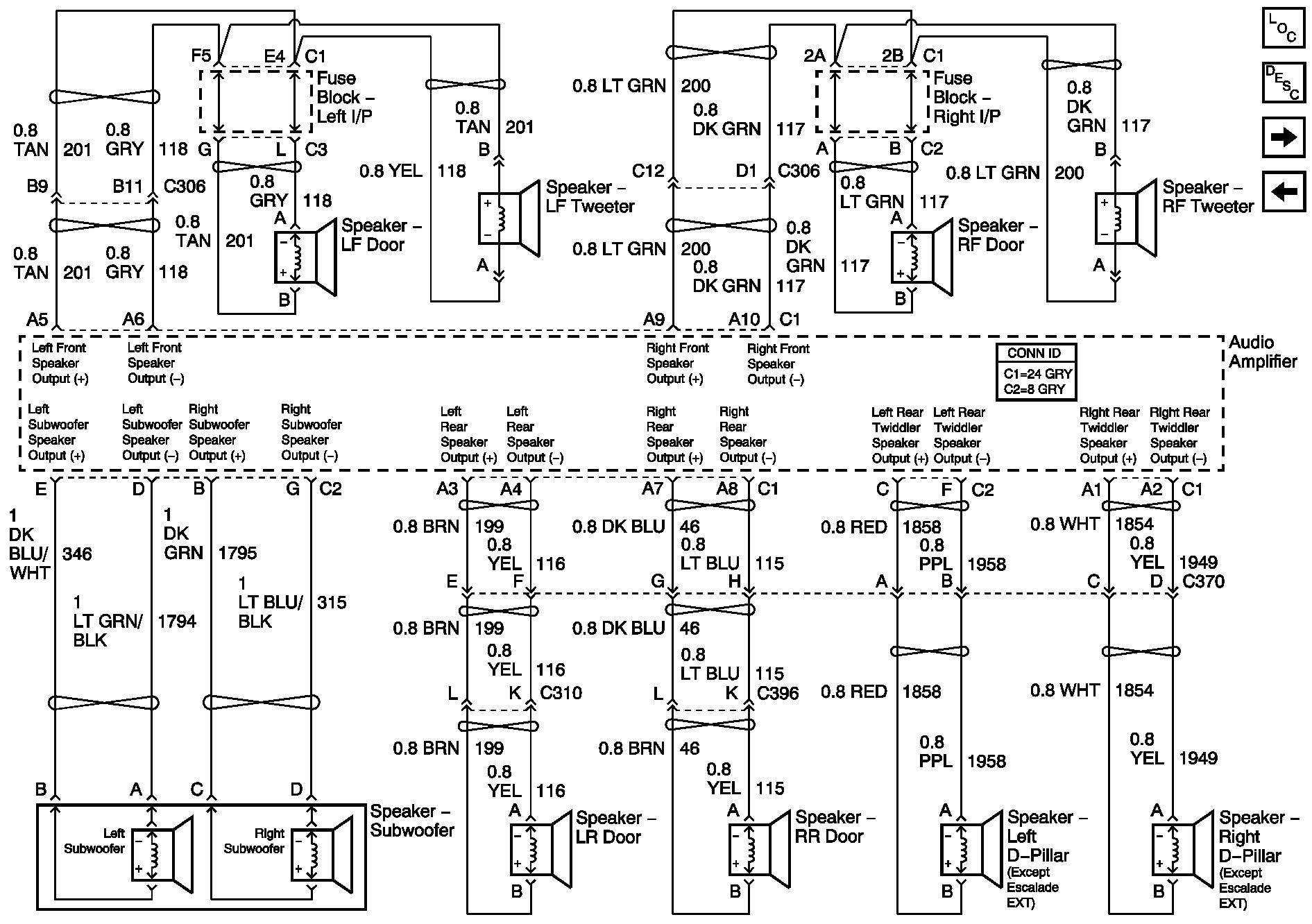 silverado bose radio wiring diagram