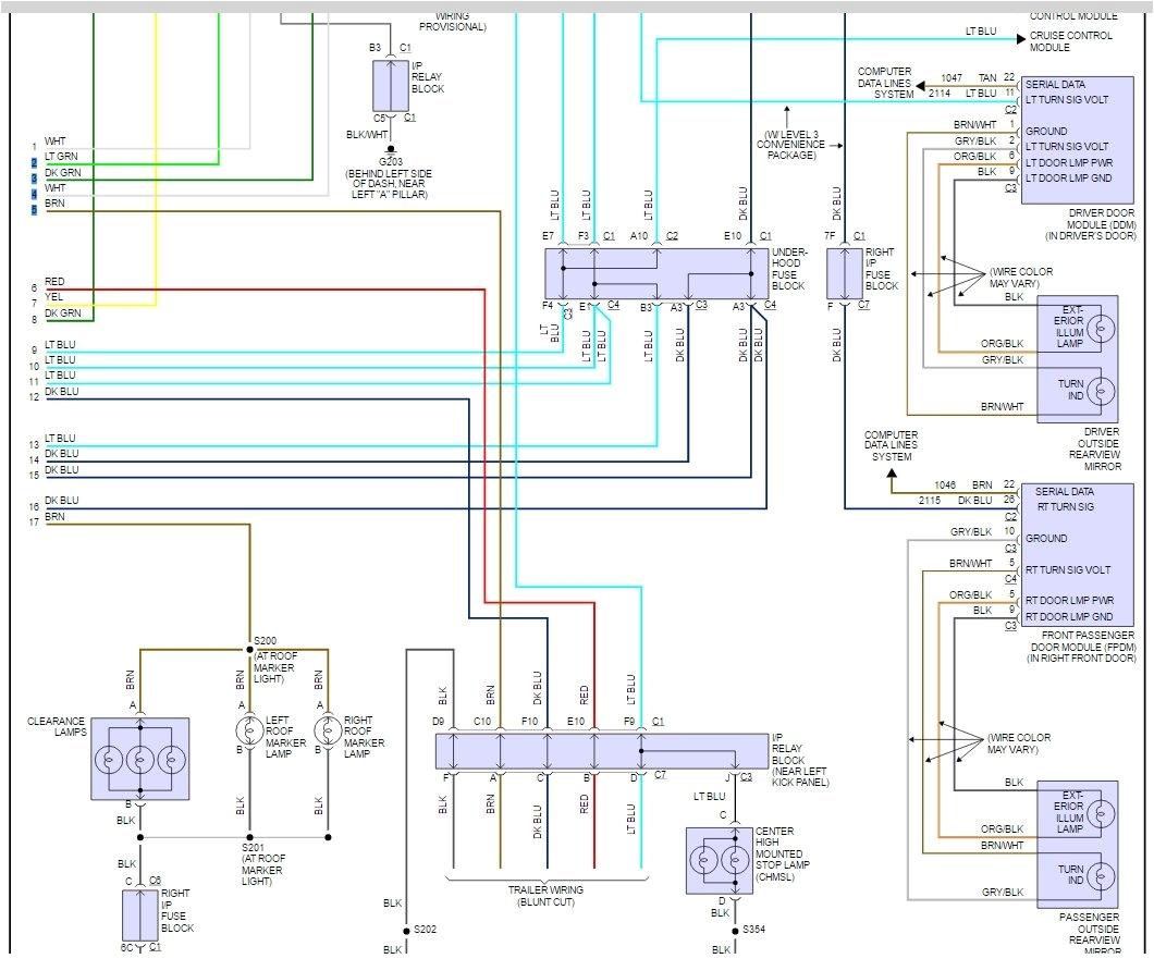 2005 chevy silverado dash lights 2005 circuit diagrams wiring 2005 silverado wiring diagram lighting