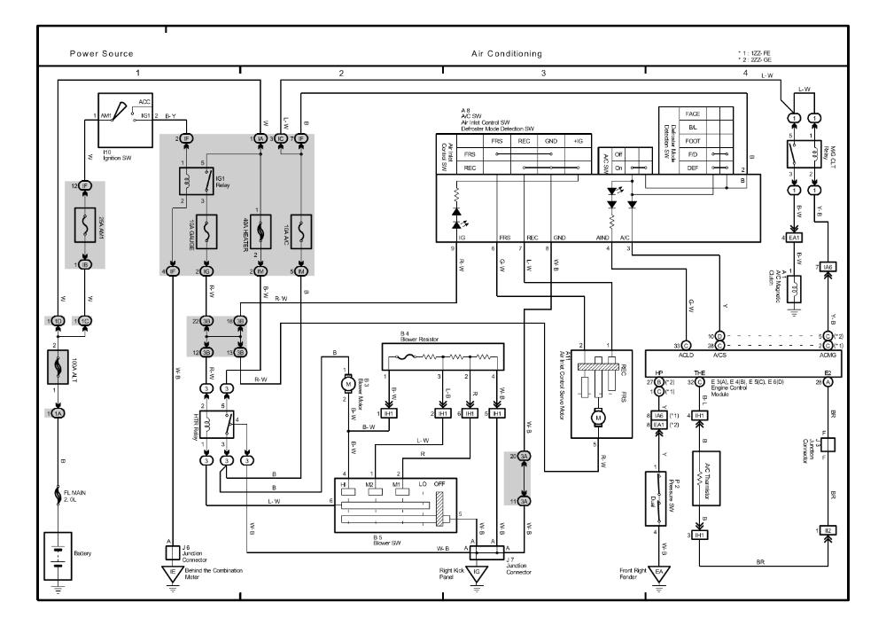 2005 Corolla Wiring Diagram Repair Guides Overall Electrical Wiring Diagram 2005 Overall
