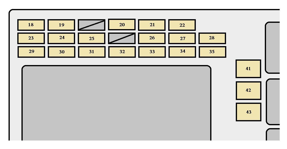 toyota corolla mk9 fuse box instrument panel 2005 jpg