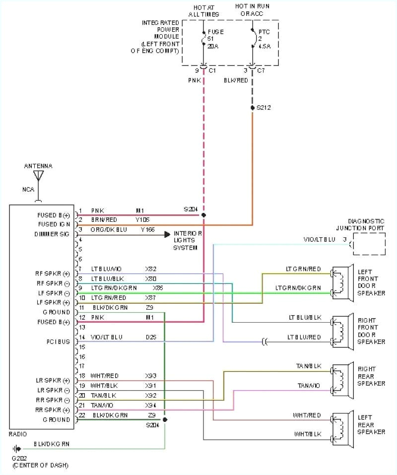radio wiring harness diagram as well dodge ram manual e book 1997 dodge dakota wiring diagram