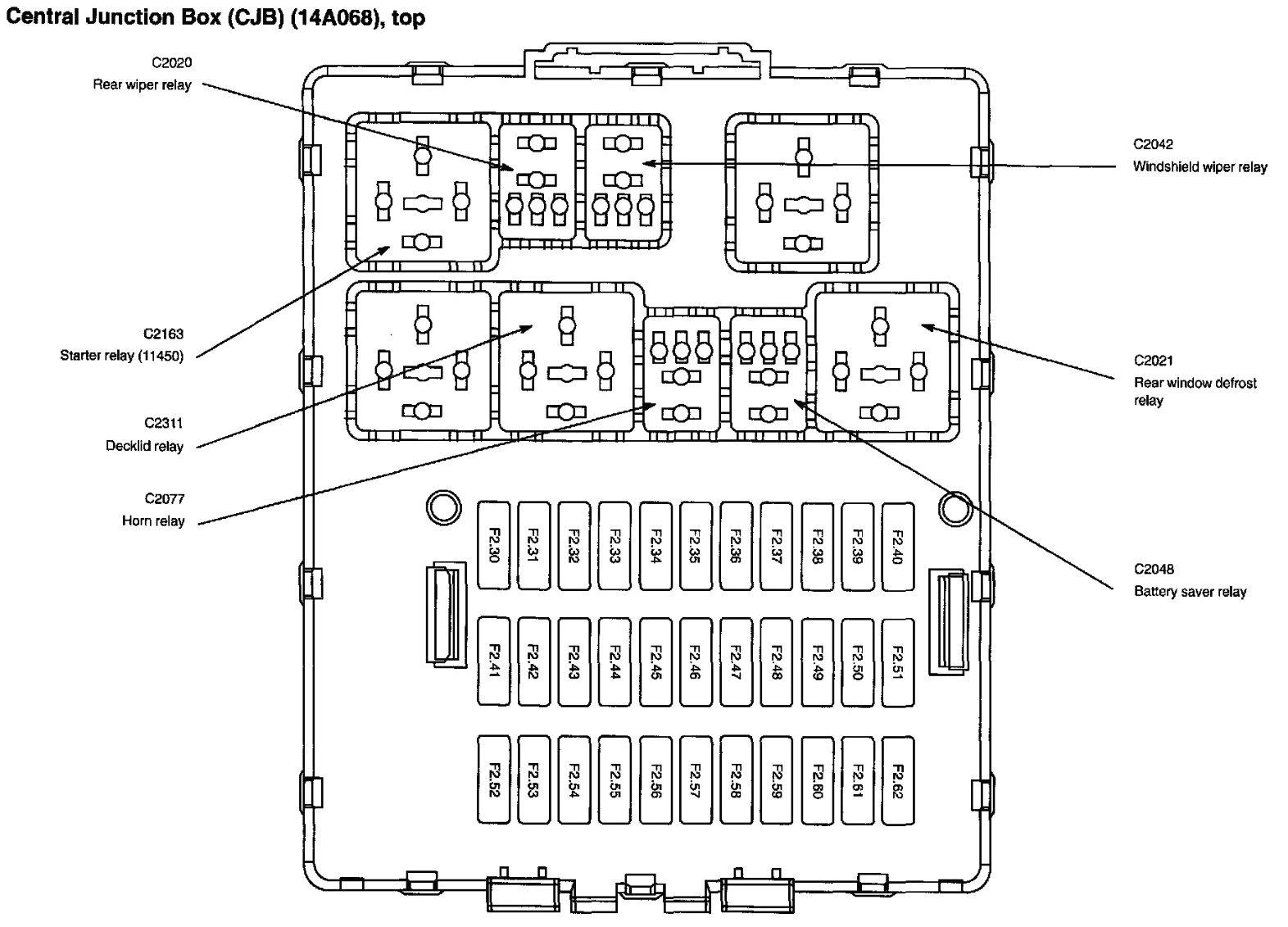 ford focus zx3 fuse diagram wiring diagram view 2000 focus fuse diagram