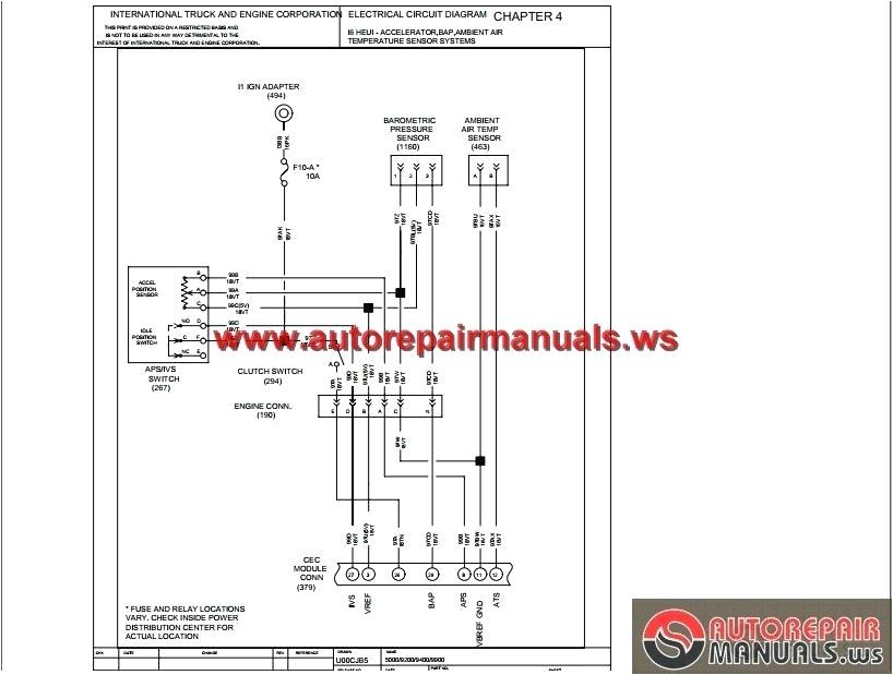 wiring diagram for 2000 international 9200 wiring diagram used international 9200 truck wiring diagrams wiring diagram