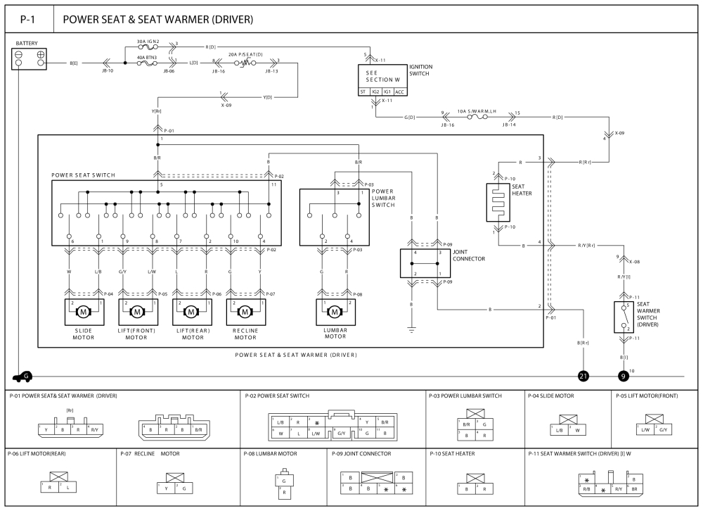 repair guides wiring diagrams wiring diagrams 1 of 4 2003 kia sorento stereo wiring diagram