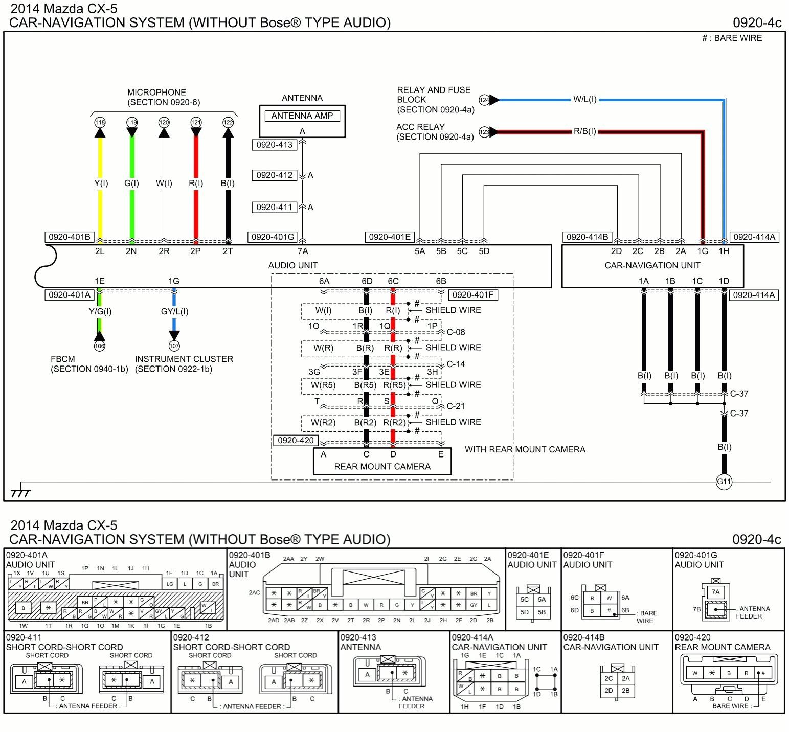 mazda 3 circuit diagram