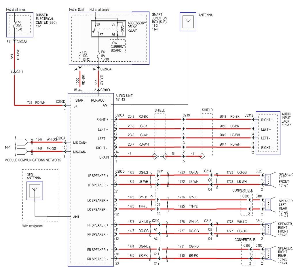2005 Mustang Stereo Wiring Diagram 2008 Mustang Gt Stereo Wiring Diagram Wiring Diagram Paper
