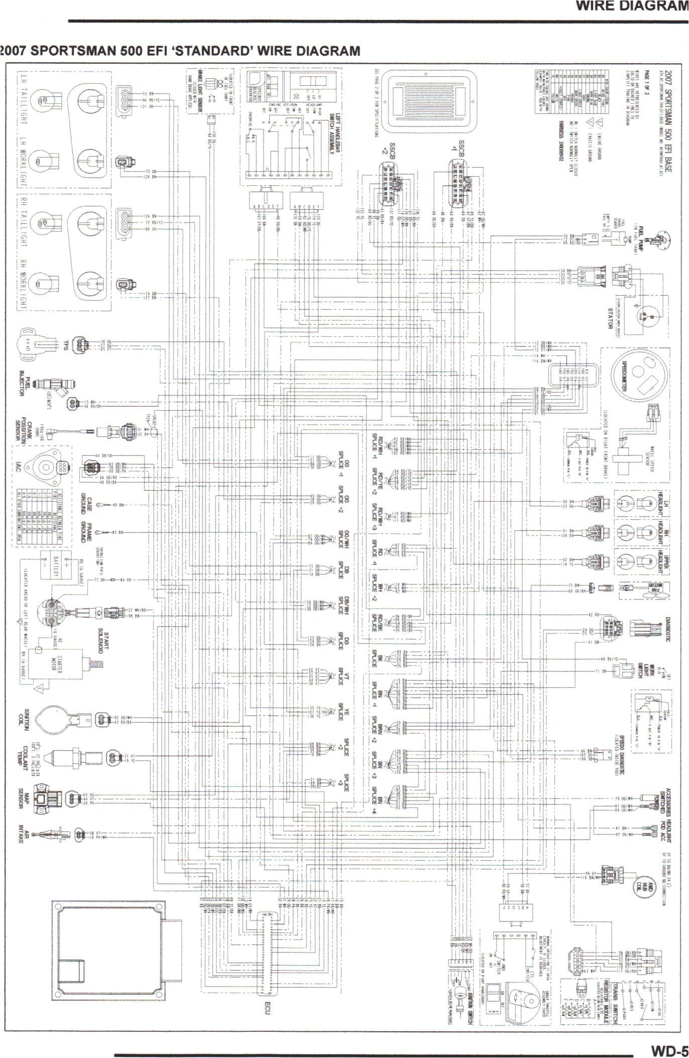 my 2007 sportsman 500 doesn u0027t start no click or dash lights evenwiring schematic