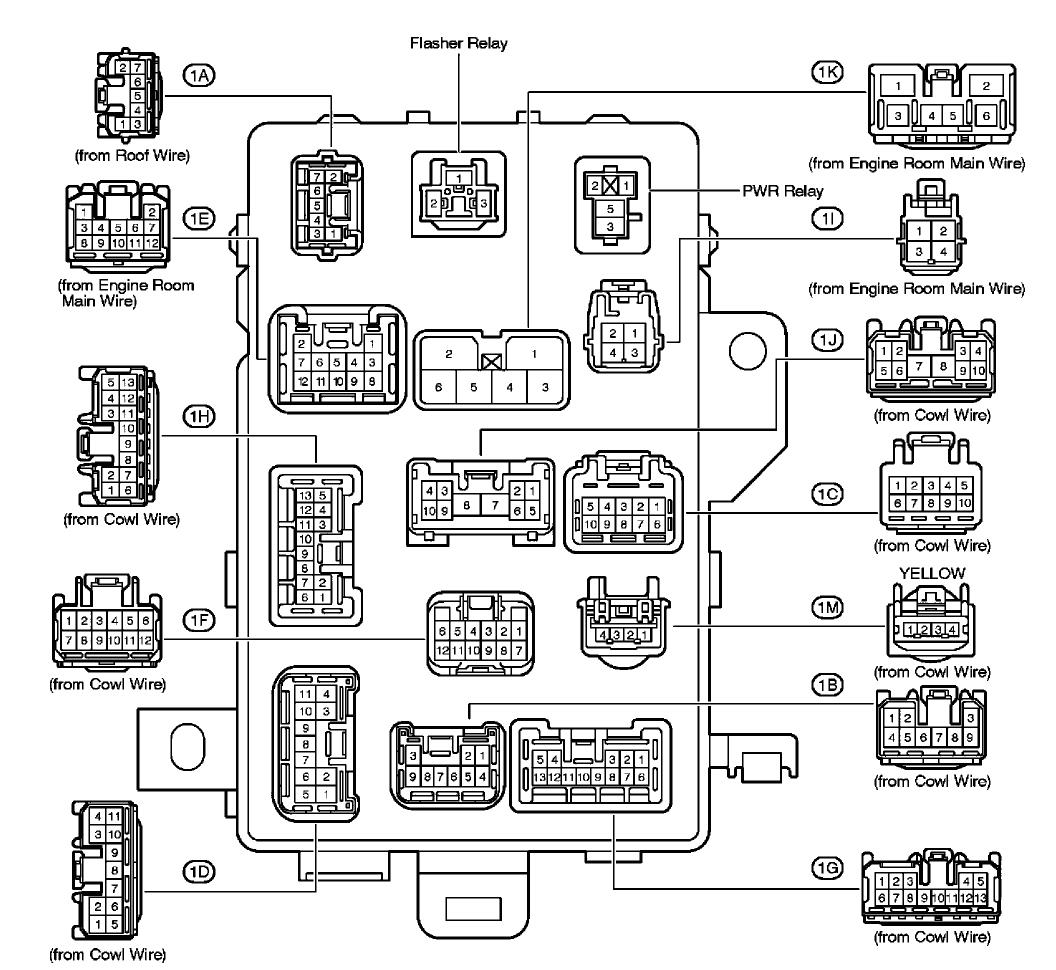 2005 toyota tacoma fuse box diagram wiring diagram for you 2005 tacoma fuse diagram