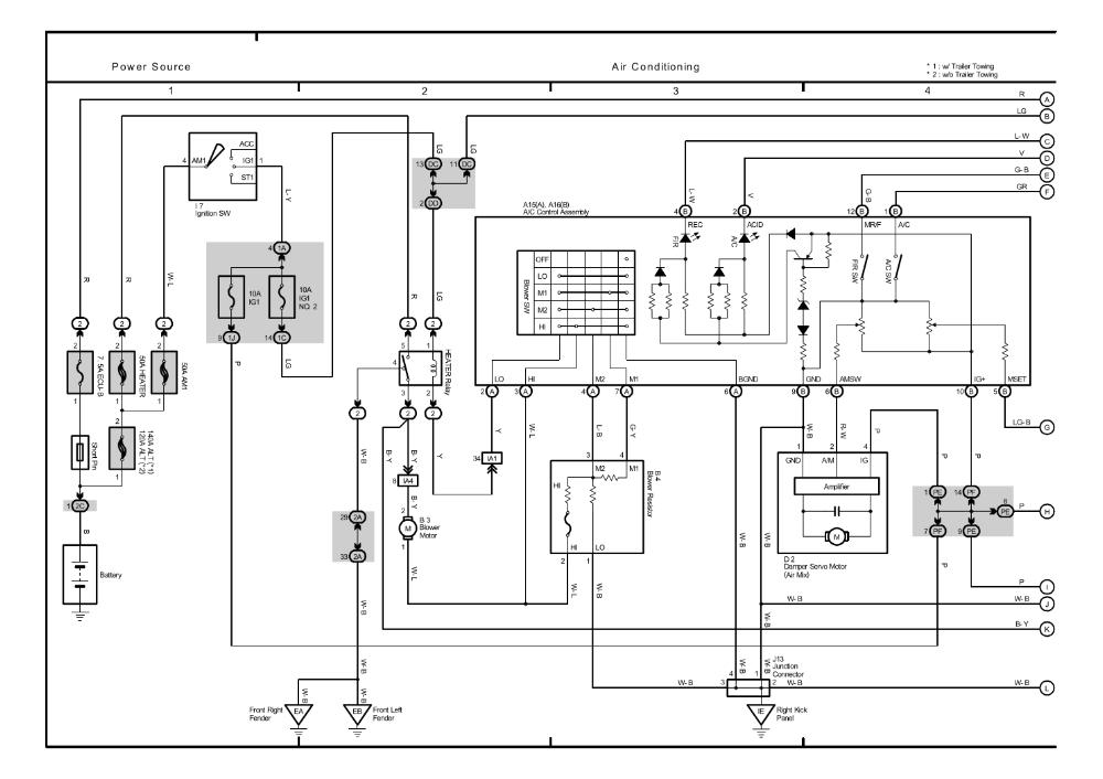 2005 toyota Tacoma Wiring Diagram Repair Guides Overall Electrical Wiring Diagram 2005 Overall