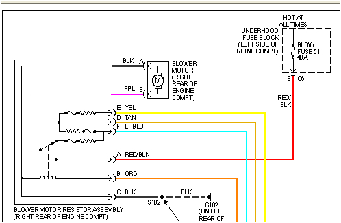 2006 Chevy Silverado Blower Motor Resistor Wiring Diagram 2001 Silverado Blower Wire Diagram Wiring Diagram