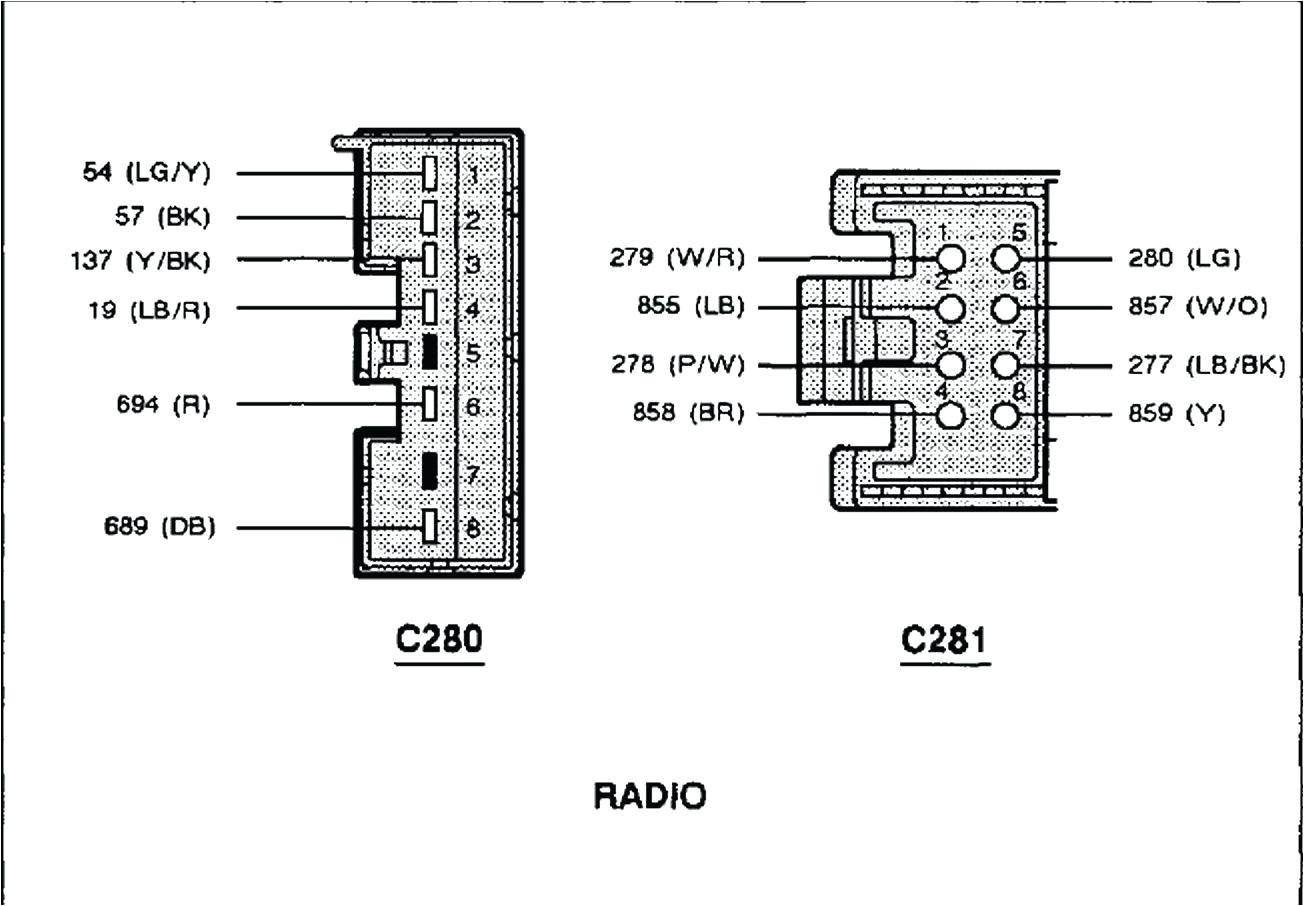 2007 f150 radio wiring diagram