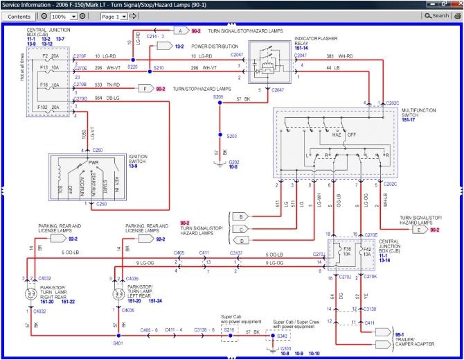 06 ford f150 wiring diagram