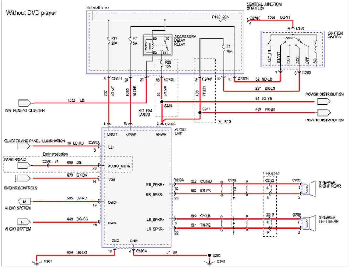 2005 ford f 250 super duty radio wiring schematic wiring diagram 2005 ford f250 starter wiring