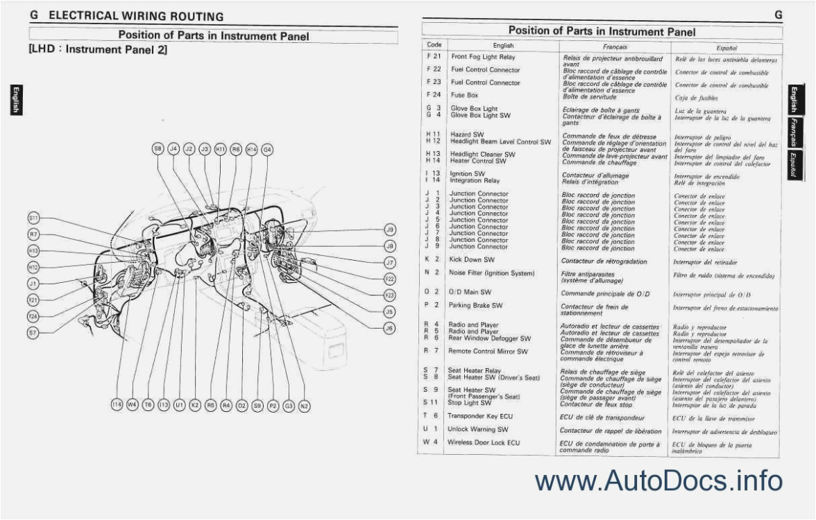 toyota wiring diagrams free wiring library10 toyota camry body diagram free car wiring diagrams u2022