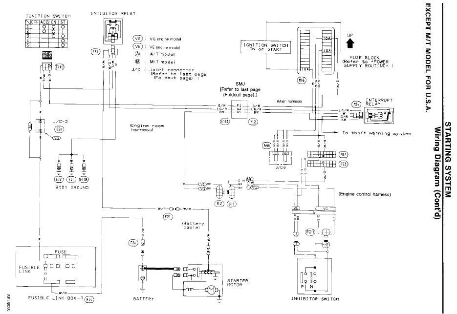 1994 nissan maxima wiring diagram wiring diagrams terms 1994 nissan maxima wiring diagram