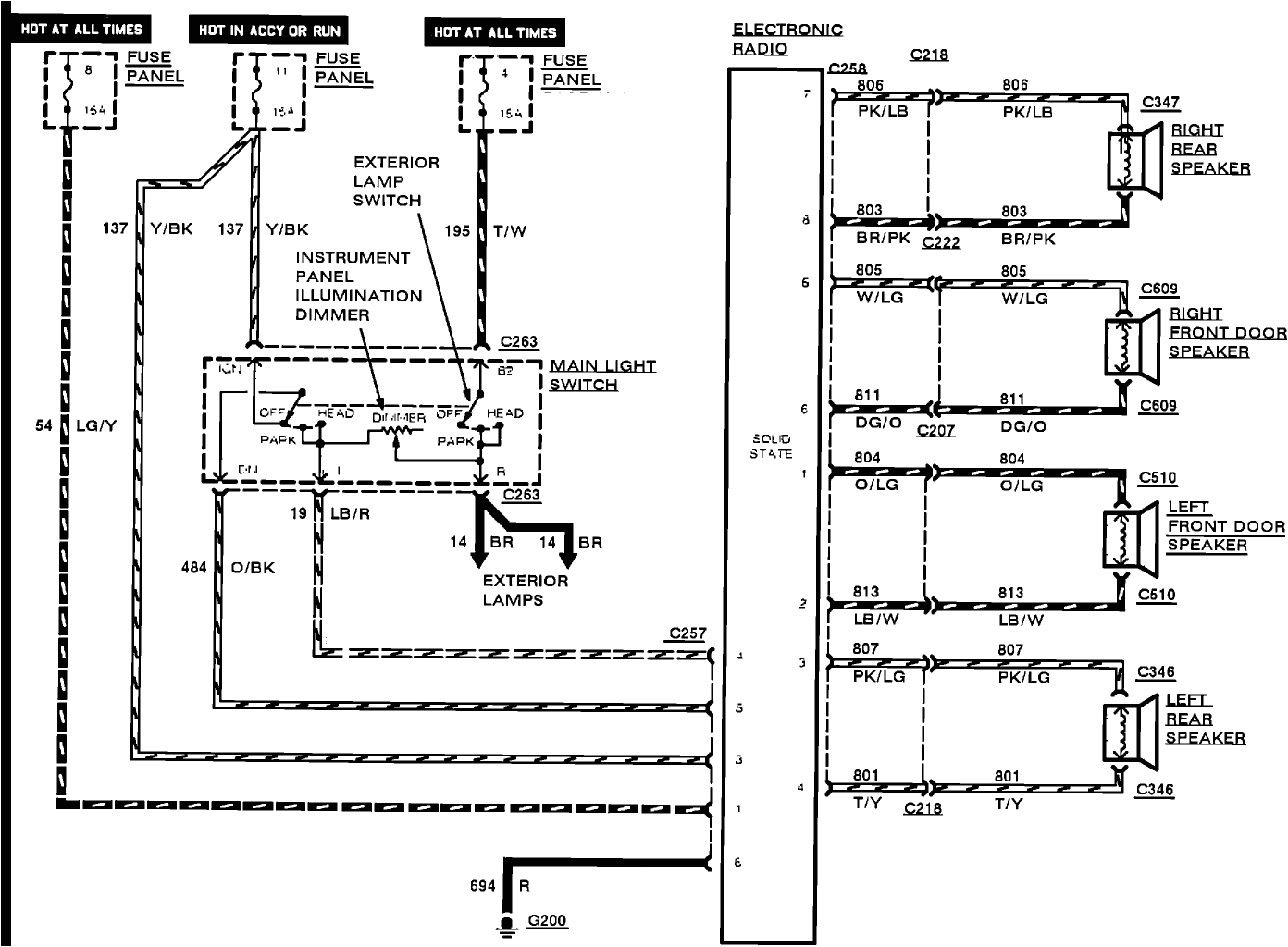 ford focus radio wiring wiring diagram centre 2014 ford focus wiring harness diagram 2006 ford focus
