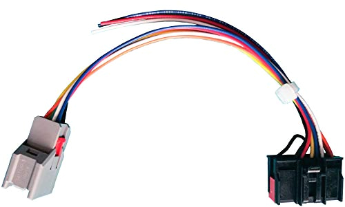 tow mirrors conversion retrofit wiring harness compatible with ford f 150 8 pin to