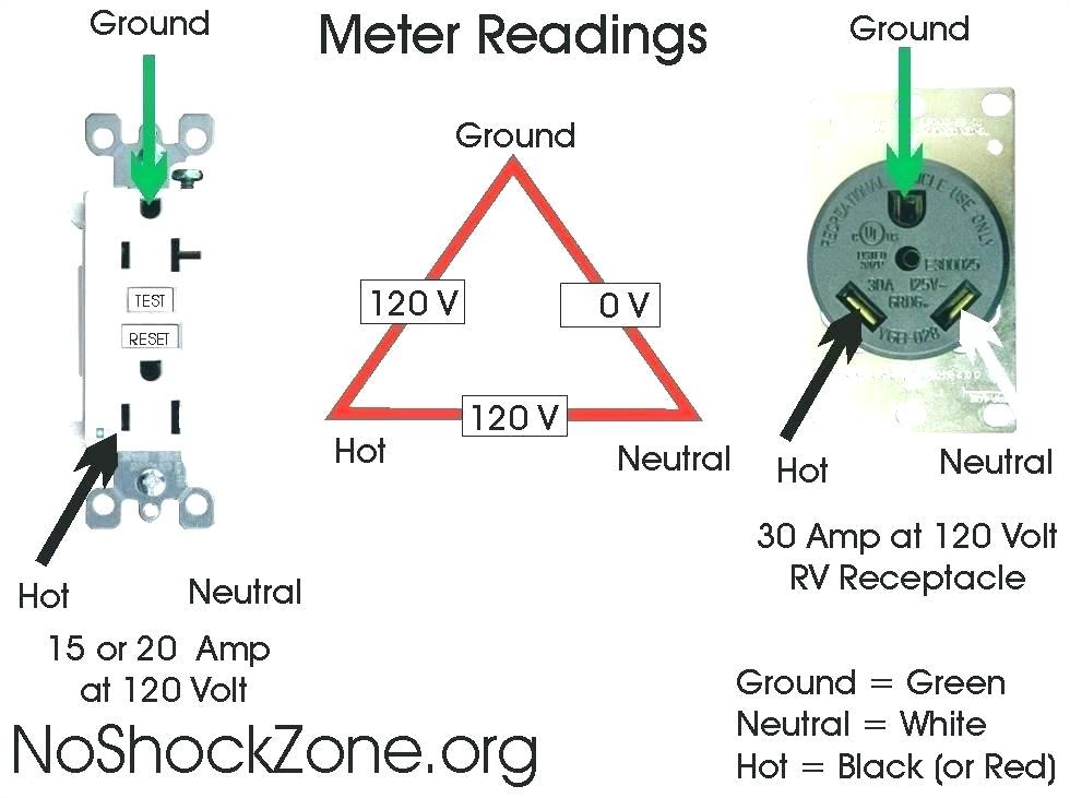 wiring diagram 220 volt 30 amp outlet mis wiring a 120 volt rv 30 wiring 30