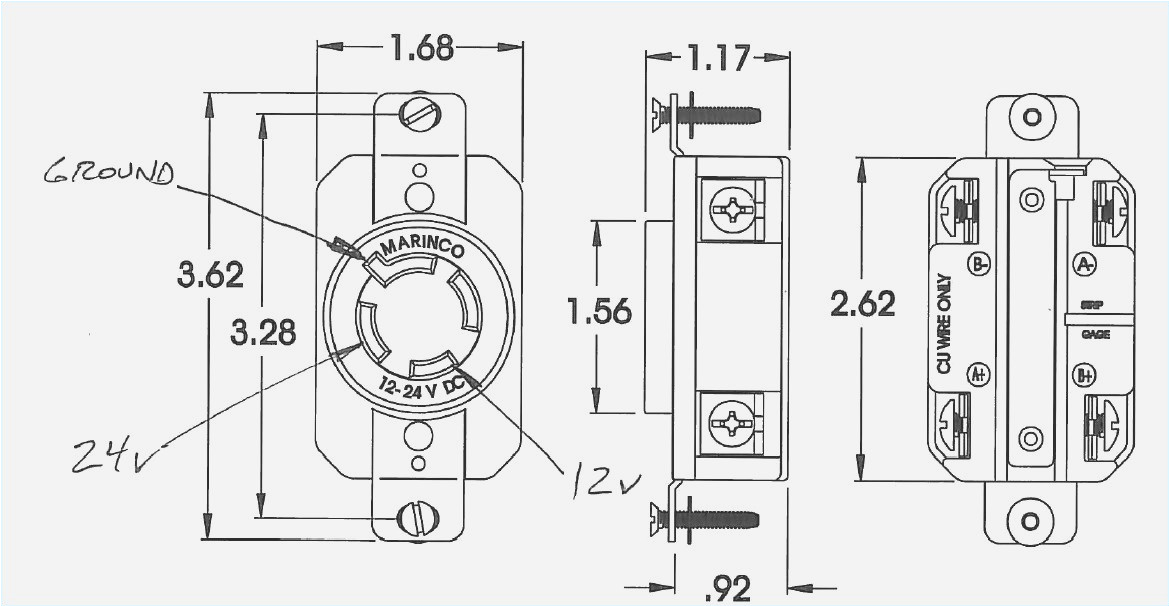 marinco trolling motor plug wiring wiring diagram review marinco 24 volt wiring diagram
