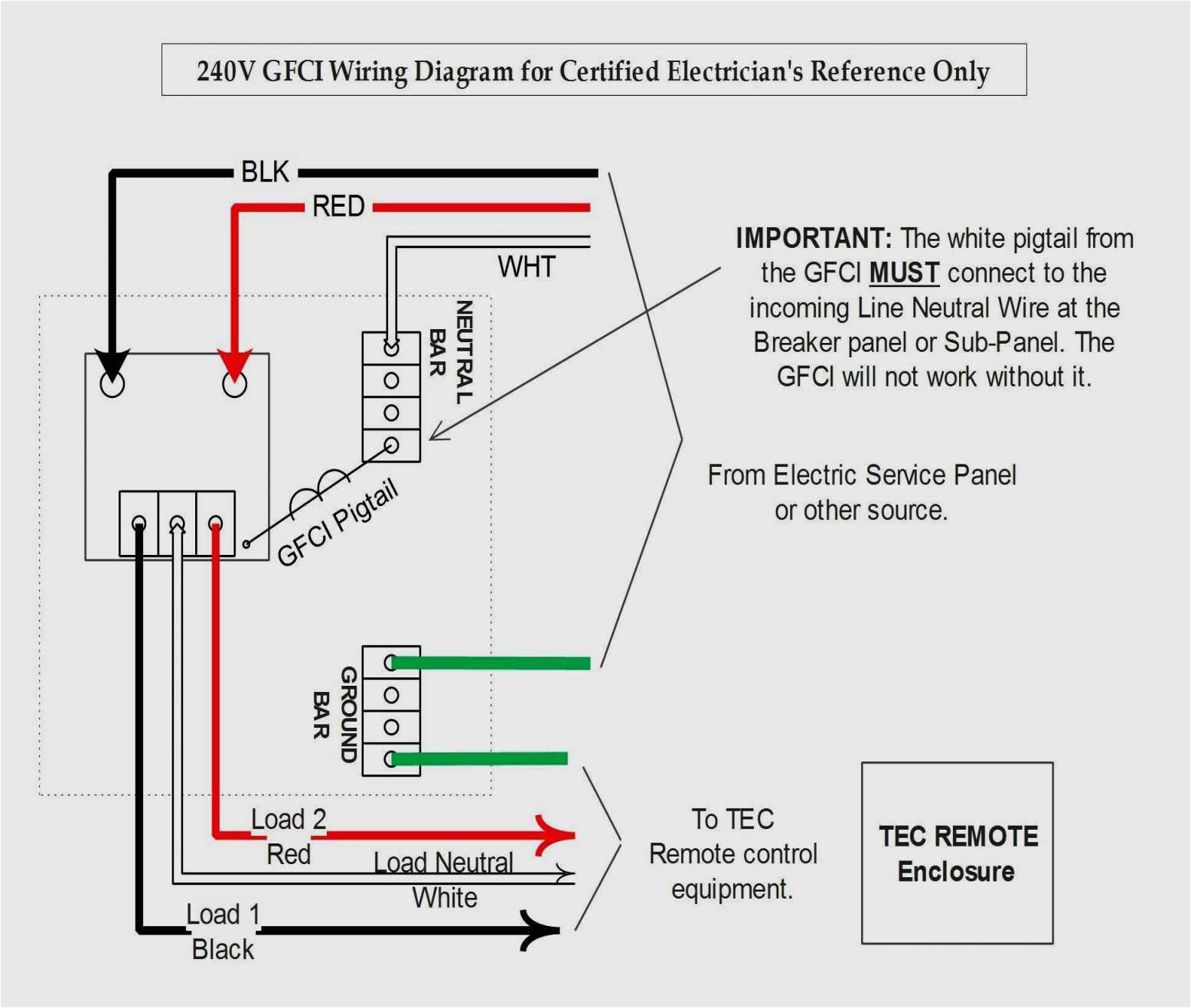 240v Gfci Wiring Diagram 240v Gfci Wiring Diagram Wiring Diagrams