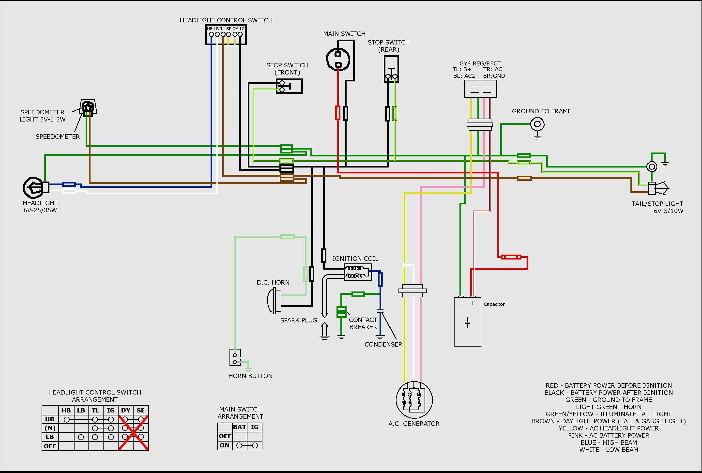 china atv wire diagram